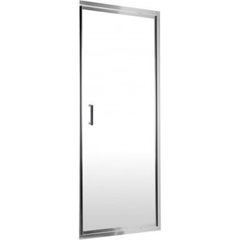 Deante Flex drzwi prysznicowe uchylne 90 cm chrom/szkło przeźroczyste KTL 011D