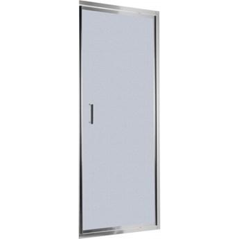 Deante Flex drzwi prysznicowe uchylne 80 cm chrom/szkło szronione KTL 612D