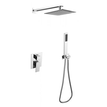 Zestaw prysznicowy Modern/Varium II, podtynkowy, chrom