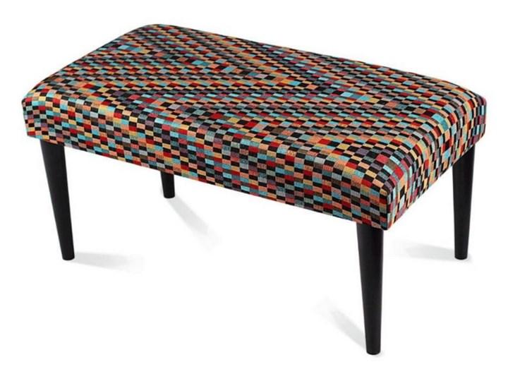 Ławka tapicerowana Modello Pikowana Materiał nóżek Drewno