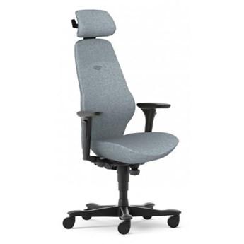 Fotel biurowy z zagłówkiem i multifunkcyjnymi podłokietnikami ergonomiczny Plus 8784