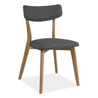 Krzesło KARL szare/dąb SIGNAL