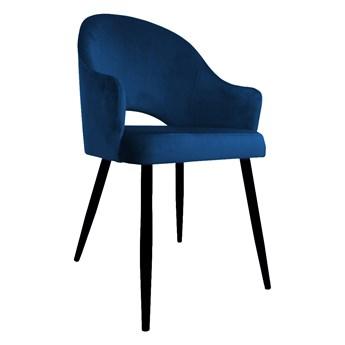 Krzesło JENISEJ VELVET granatowe ATOS