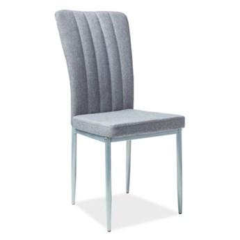 Krzesło H-733 szare/aluminium SIGNAL
