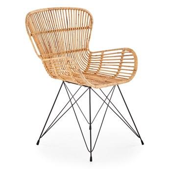 Krzesło K335 rattanowe HALMAR