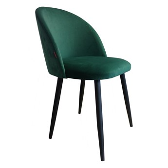 Krzesło CLAUDINE 1 VELVET zielone ATOS