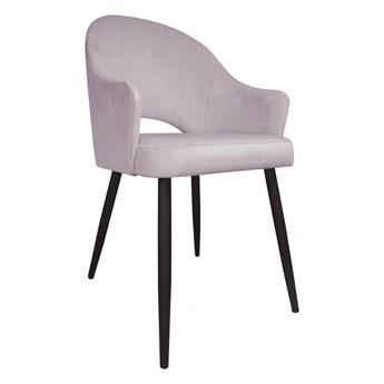 Krzesło JENISEJ VELVET jasno różowe ATOS