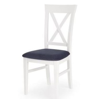 Krzesło BERGAMO białe HALMAR