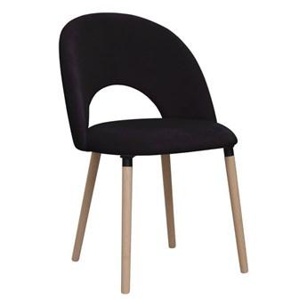 Krzesło ABISSO czarne DOMARTSTYL