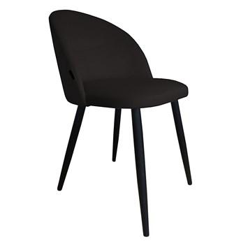Krzesło CLAUDINE 1 VELVET czarne ATOS