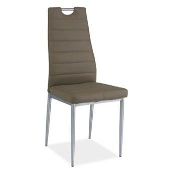 Krzesło H-260 ciemno beżowe SIGNAL