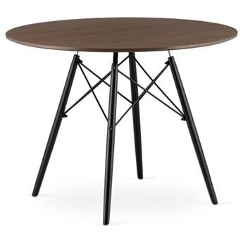 Stół okrągły w stylu skandynawskim Paris Milano 100x75 jesion