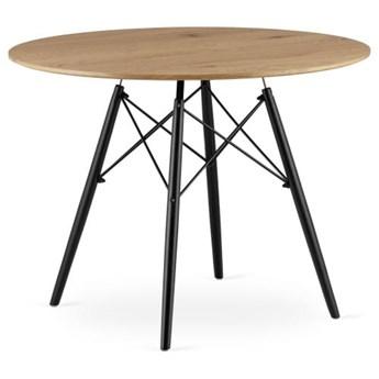 Stół okrągły Paris Milano 100x75 dąb