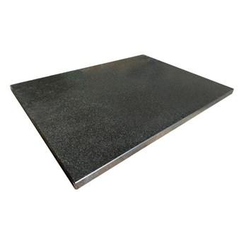 Blat łazienkowy Knap Shanxi 100,4 x 45,3 x 2 cm czarny