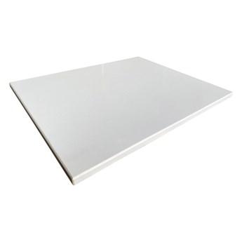 Blat łazienkowy Knap Snow 80,4 x 45,3 x 2 cm biały