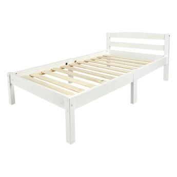 Łóżko białe Clasic 140/70
