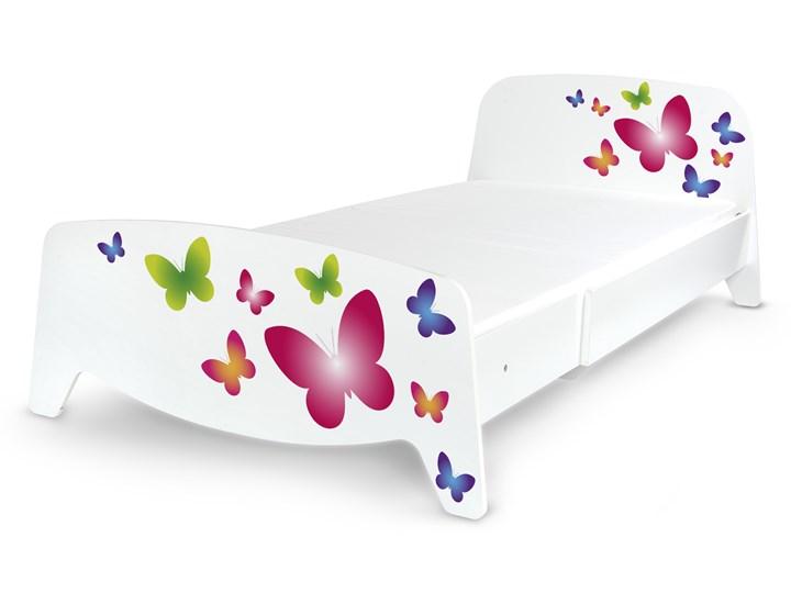 Łóżko segmentowe z regulacją długości Sofia Motyw: Motyle