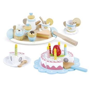 """Zestaw do herbaty + tort """"Urodzinowe przyjęcie"""""""