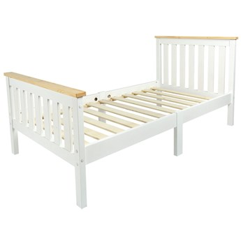 Łóżko białe Milano Pine 140/70