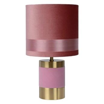 Lucide 10500/81/66 - Lampa stołowa EXTRAVAGANZA FRIZZLE 1xE14/40W/230V różowy