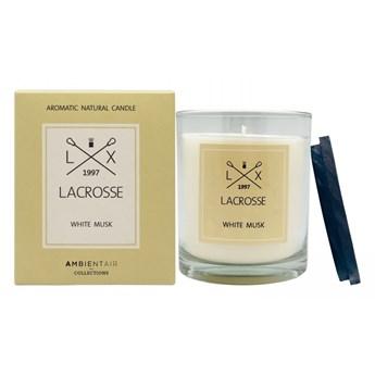 Świeca zapachowa white musk Lacrosse 60h kod: ZVV060MBLC