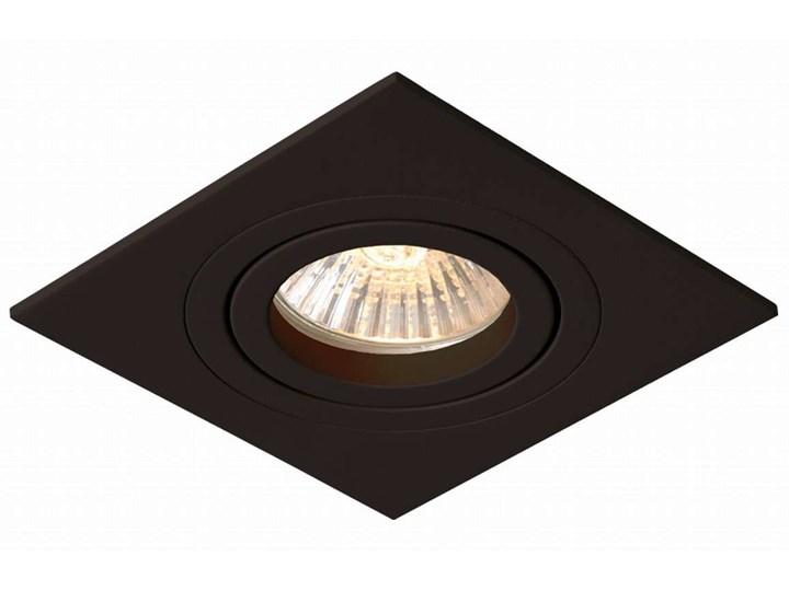 Wpuszczana LAMPA sufitowa METIS LP-2780/1RS BK Light Prestige kwadratowa OPRAWA metalowy WPUST regul ...