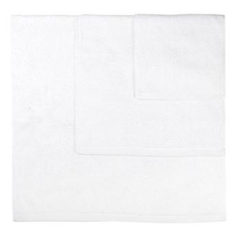 Zestaw 3 białych ręczników Boheme Alfa