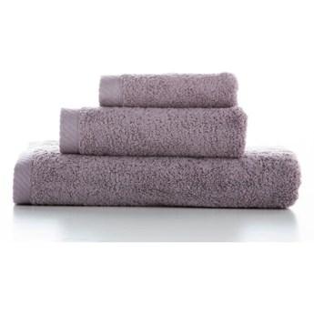 Zestaw 3 fioletowych bawełnianych ręczników El Delfin Lisa Coral, 70x140 cm
