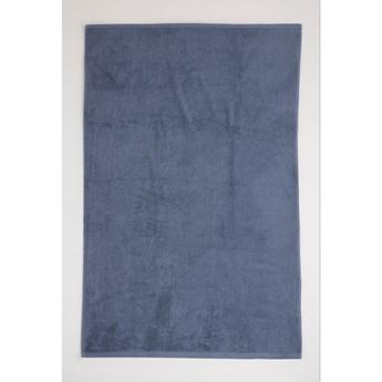Szaroniebieski bawełniany ręcznik El Delfin Lisa Coral, 50x100 cm
