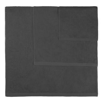 Zestaw 3 ciemnoszarych ręczników Artex Alfa