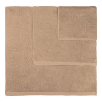 Zestaw 3 brązowych ręczników Artex Alfa