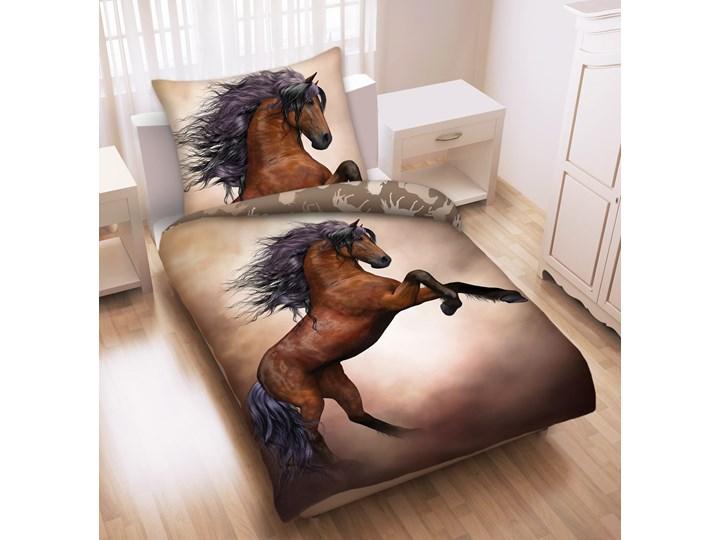 Pościel bawełniana 140x200 Konie Mustang, Halantex Bawełna Komplet pościeli 140x200 cm Rozmiar poduszki 70x90 cm 70x90 cm Kategoria Komplety pościeli