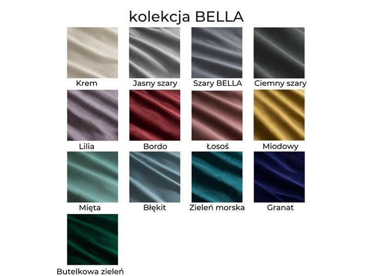 Ławka tapicerowana PALM Kolor Zielony Materiał obicia Tkanina