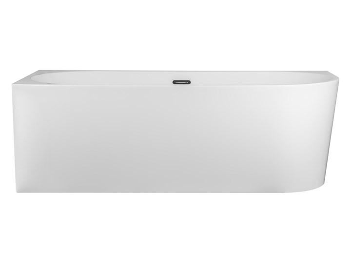 Wanna narożna do montażu przyściennego Corsan Intero lewa Akryl Długość 160 cm Stal Kategoria Wanny