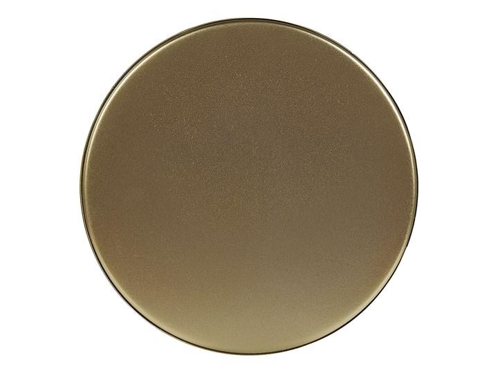 Doniczka na stojaku złota metalowa 15 x 15 x 28 cm kwietnik stojący stojak na kwiaty na ogród do salonu nowoczesny glamour Doniczka na nóżkach Doniczka na kwiaty Kolor Złoty