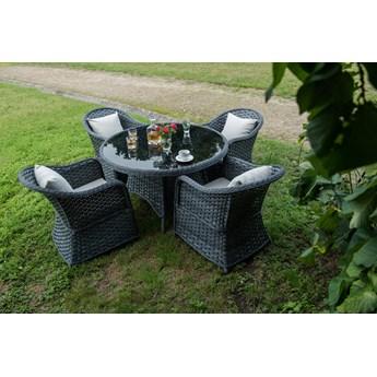 Zestaw mebli stołowych do ogrodu Moderno