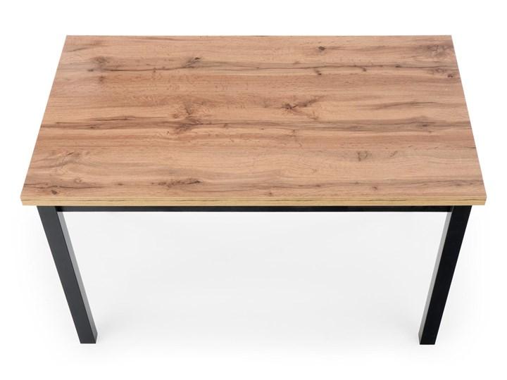 Nierozkładany stół w stylu industrialnym Cobalt Długość 120 cm  Metal Wysokość 120 cm Wysokość 77 cm Rozkładanie Drewno Szerokość 120 cm Kolor Beżowy