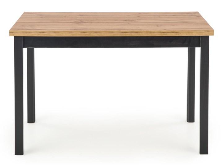 Nierozkładany stół w stylu industrialnym Cobalt Wysokość 120 cm Długość 120 cm  Kolor Beżowy Metal Szerokość 120 cm Wysokość 77 cm Drewno Kształt blatu Prostokątny