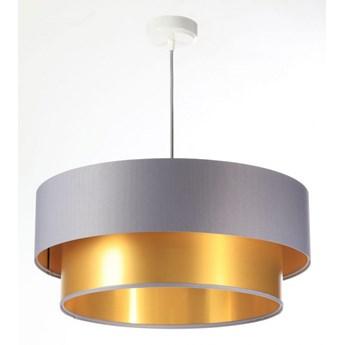 Lampa Wisząca Fiona New Szaro-złota 40cm