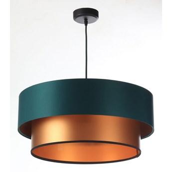 Lampa Wisząca Fiona New Zielono-miedziana 40cm