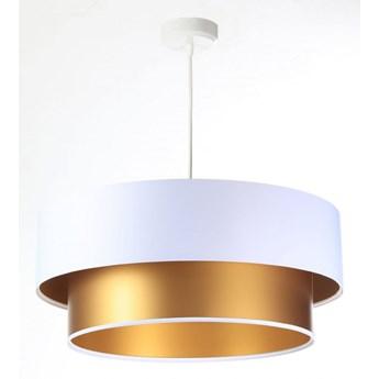 Lampa Wisząca Fiona New Biało-złota 40cm