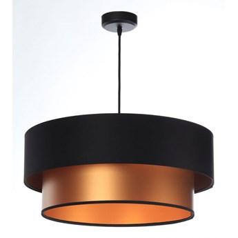 Lampa Wisząca Fiona New Czarno-miedziana 40cm