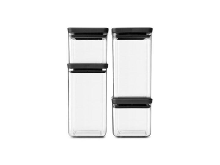 Zestaw pojemników na żywność BRABANTIA Tasty+ 122422 4 szt. Silikon Hermetyczny Kategoria Pojemniki i puszki