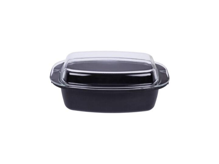 Brytfanna MPM SBR-1 (5L) Garnek rzymski Aluminium Naczynie do zapiekania Ceramika Kategoria Naczynia do zapiekania Kolor Czarny