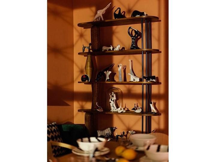 Figurka porcelanowa Żuraw - bączek, proj. H. Orthwein, AS Ćmielów Zwierzęta Ceramika Szkło Kategoria Figury i rzeźby Kolor Czarny