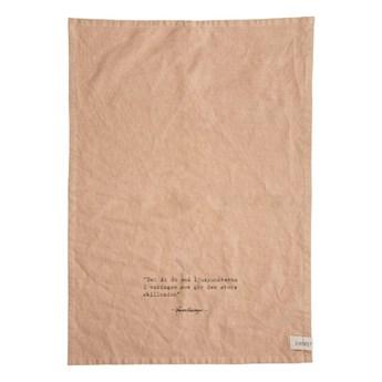 ERNST - Lniany ręcznik kuchenny Ljuspunkter