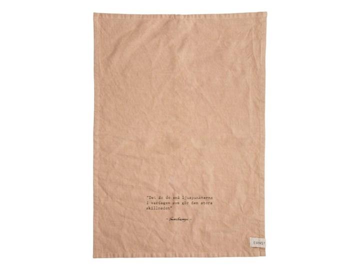ERNST - Lniany ręcznik kuchenny Ljuspunkter Bawełna Kategoria Ręczniki