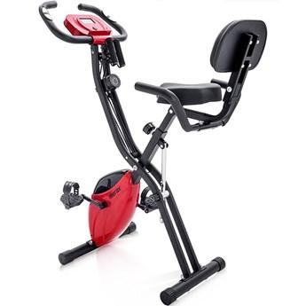 Składany rower treningowy Merax X-Bike - czerwony