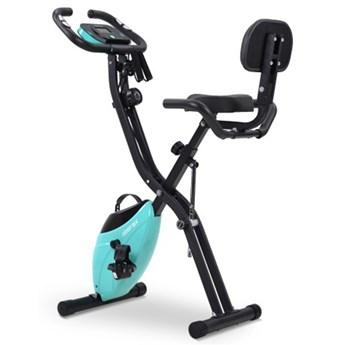 Składany rower fitness Merax X-Bike - niebieski