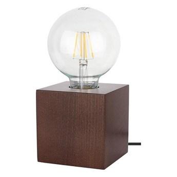Spot-Light 7179176 - Lampa stołowa TRONGO SQUARE 1xE27/25W/230V